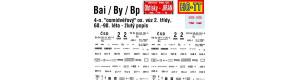 "Obtisky Bai/By/Bp - 4-n. osobní vůz ""osmidvéřový"" (60. - 80. léta), TT, Jiran 034"