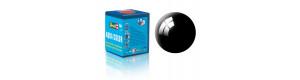 Barva akrylová, lesklá černá, 18 ml, Revell 36107