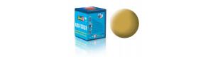Barva akrylová, matná pískově žlutá, 18 ml, Revell 36116