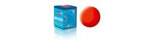 Barva akrylová, matná světle oranžová, 18 ml, Revell 36125