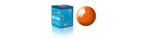 Barva akrylová, leská oranžová, 18 ml, Revell 36130