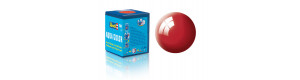 Barva akrylová, lesklá italská červená, 18 ml, Revell 36134