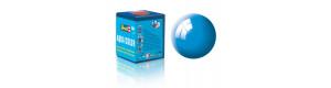 Barva akrylová, lesklá světle modrá, 18 ml, Revell 36150