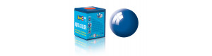 Barva akrylová, lesklá modrá, 18 ml, Revell 36152
