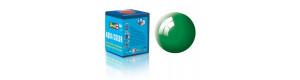 Barva akrylová, lesklá smaragdově zelená, 18 ml, Revell 36161