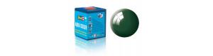 Barva akrylová, leská zelenomodrá, 18 ml, Revell 36162