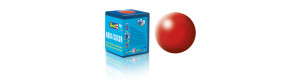 Barva akrylová, hedvábná ohnivě rudá, 18 ml, Revell 36330