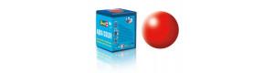 Barva akrylová, hedvábná světle červená, 18 ml, Revell 36332