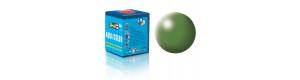 Barva akrylová, hedvábná zelená, 18 ml, Revell 36360