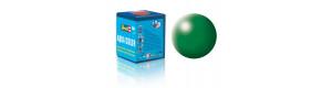 Barva akrylová, hedvábná listově zelená, 18 ml, Revell 36364