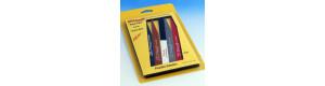 Sada modelářských pilníků Flex-Pad, Albion Alloys AA525