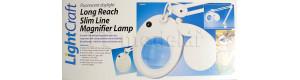 Stolní svítidlo s kruhovým zvětšovacím sklem (průměr čočky 125 mm), polohovatelné, DOPRODEJ, Modelcraft LC8076EUK