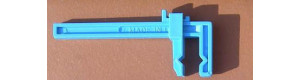 Plastová svěrka velká, čelisti 50 mm, rozevření 180 mm, 2 kusy, Proedge 12444