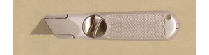 Nůž 9N, s výměnnou čepelí, celokovový, Proedge 12119
