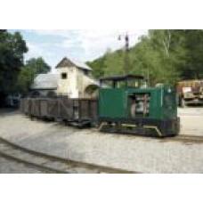Pohlednice, motorová lokomotiva BH 30 R ve skanzenu Solvayovy lomy, Corona CPV065