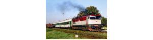 Pohlednice, motorová lokomotiva 749.254 v Častolovicích - září 2006, Corona CPV044