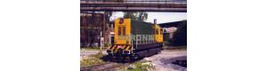 Pohlednice, motorová lokomotiva T 458.1502 v NH Ostrava - květen 1999, Corona CPV002