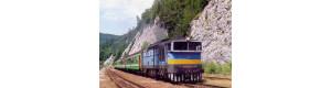 Pohlednice, motorová lokomotiva 750.238 ve st. Harmanec - červenec 2002, Corona CPV028