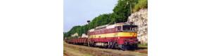 Pohlednice, motorová lokomotiva 750.311 v Bakově n. Jizerou - červenec 2004, Corona CPV030