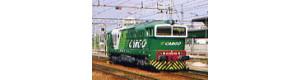 Pohlednice, pronajatá lokomotiva DE 520-07(753.046) v Milano-Novate - září 2003, Corona CPV034