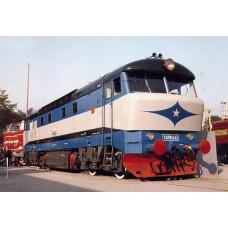 Pohlednice, druhý prototyp motorové lokomotivy T 478.1002 v Brně - 1964, Corona CPV039