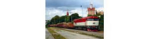 Pohlednice, motorová lokomotiva 749.006 ve stanici Praha Bráník - srpen 2006, Corona CPV040