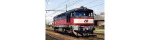 Pohlednice, motorová lokomotiva 749.121 v Olomouci - srpen 2007, Corona CPV047