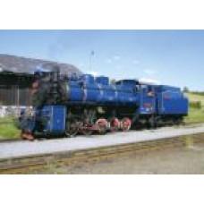 Pohlednice, lokomotiva U57.001 v Třemešné ve Slezsku, Corona CPV086