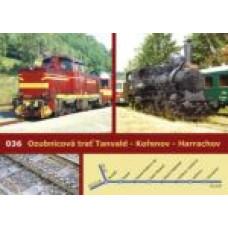 Pohlednice, ozubnicová trať Tanvald - Kořenov - Harrachov (036), Corona CPV090