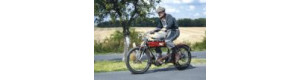 Pohlednice, motocykl Torpédo, Corona A024