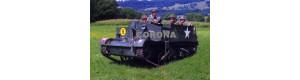 Pohlednice, britské pásové obrněné vozidlo Mortar Career Mk. II, Corona CPM001