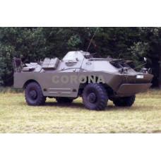 Pohlednice, obrněný transportér BRDM 2 RCh, Corona CPM006