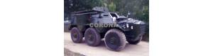 Pohlednice, obrněný transportér Alvis Saracen FV 603, Corona CPM010