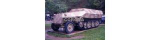 Pohlednice, obrněný kolopásový transportér Sd Kfz 251, Corona CPM007