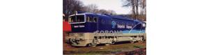 Pohlednice, motorová lokomotiva 753.721 v barvách Unipetrolu - březen 2007, Corona CPV006
