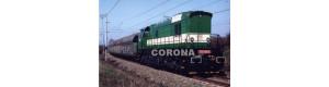 Pohlednice, motorová lokomotiva 770.501-5 na trati dolů Nástup - duben 2003, Corona CPV007