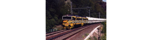 Pohlednice, motorové lokomotivy 753.723-6 s vozy Lafarge u Řeže - květen 2007, Corona CPV008