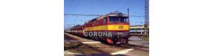 Pohlednice, motorová lokomotiva 749.100-4 v Č. Budějovicích - září 2005, Corona CPV013