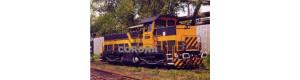 Pohlednice, motorová lokomotiva T 419.1511 v NH Ostrava - květen 1999, Corona CPV014
