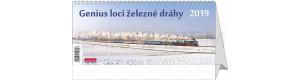Stolní kalendář Genius loci železné dráhy 2019, Carpe Diem