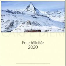 Železniční novoročenka 2020, Carpe Diem
