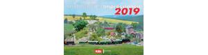 Kalendář Modellbahn-Impressionen 2019, VGB 16284178