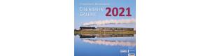 Kalendář 2021, Eisenbahn Galerie, VGB 552031