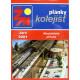 Plánky kolejišť, modelářská příloha, ŽM-2001