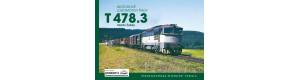 Motorové lokomotivy řady T 478.3, Martin Žabka, edice Krokodýl č.3