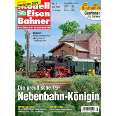 Modelleisenbahner 05/21, VGB 192105