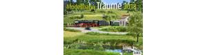 Kalendář pro rok 2018 - Modellbahn Träume, VGB 551702