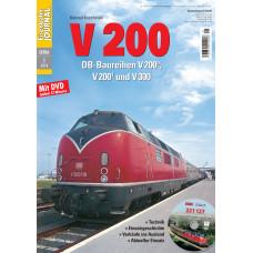 Eisenbahn Journal Extra, V 200 DB, včetně DVD, VGB 701801