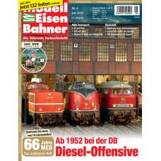 Modelleisenbahner 6/2018, včetně DVD, VGB 901806