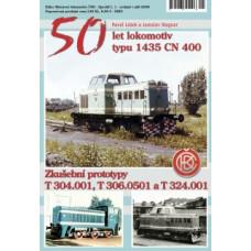 50 let lokomotiv typu 1435 CN 400 , Edice Motorové lokomotivy ČSD, Speciál č.01